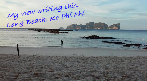 my view ko phi phi beach long beach