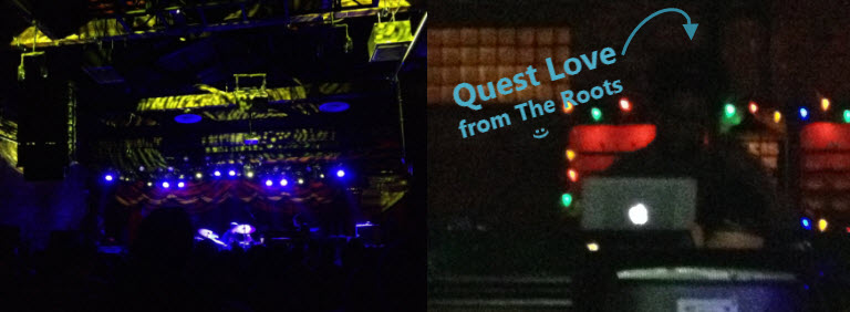 quest love surprise dj set in  nyc