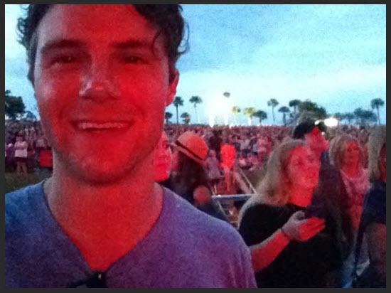 Lady antebellum Concert selfie