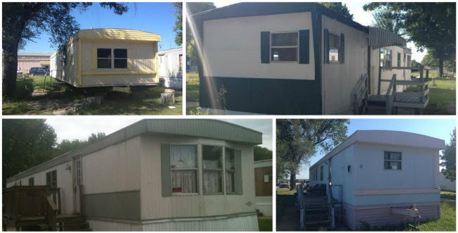 mobile home collage a